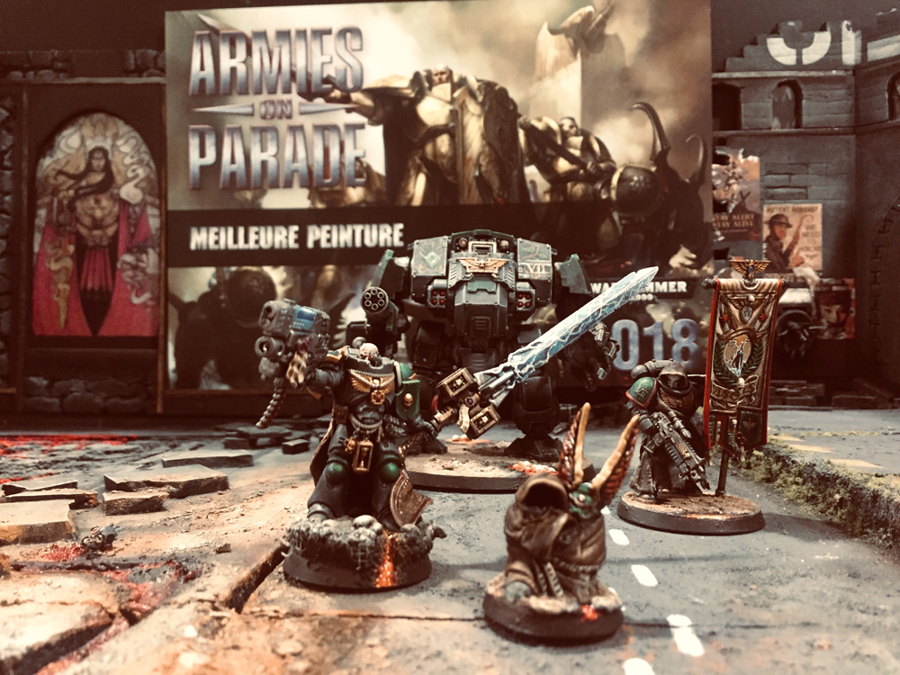 Gagnant Meilleure peinture Warhammer 40k – Armies on Parade 2018 – Games workshop
