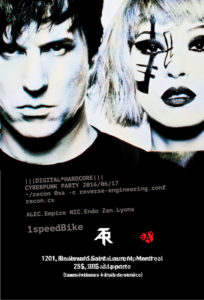 Atari teenage Riot, Flyer, 2016