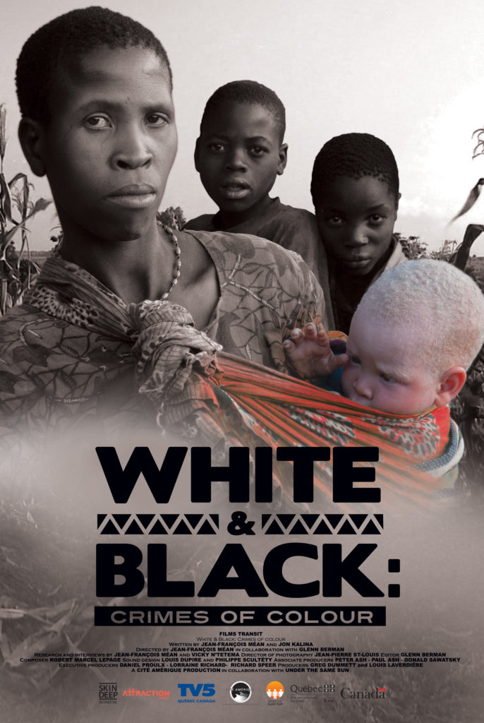 White & black, affiche, 2010