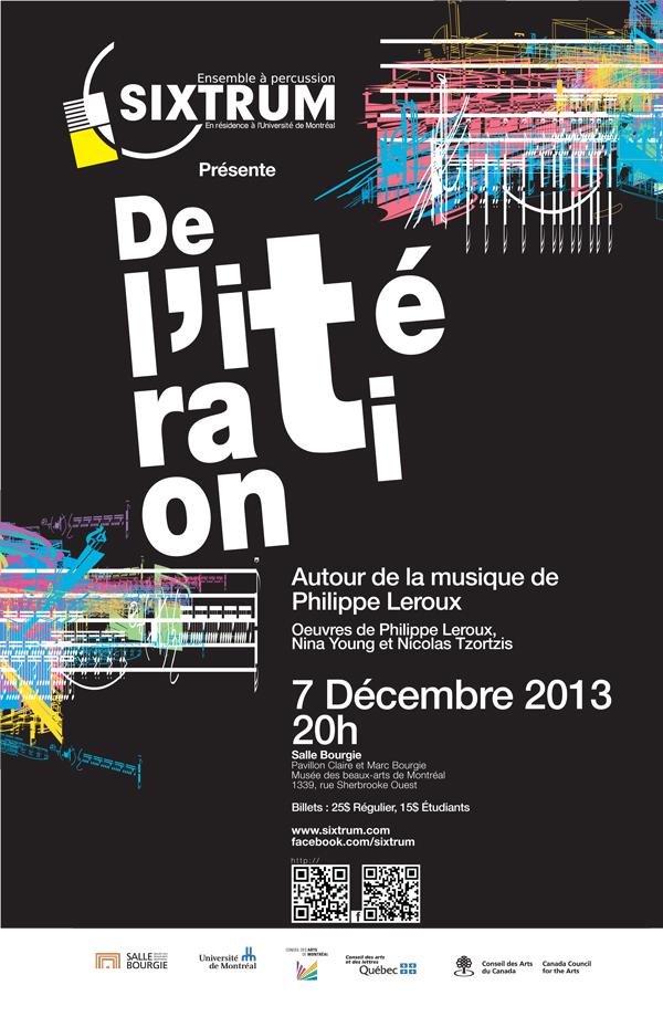 Sixtrum, De l'itération, 2013