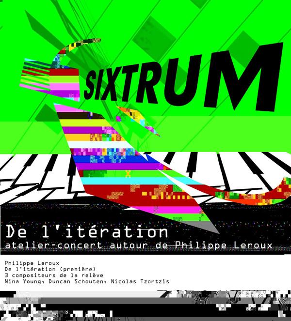 Sixtrum, De l'itération, 2012