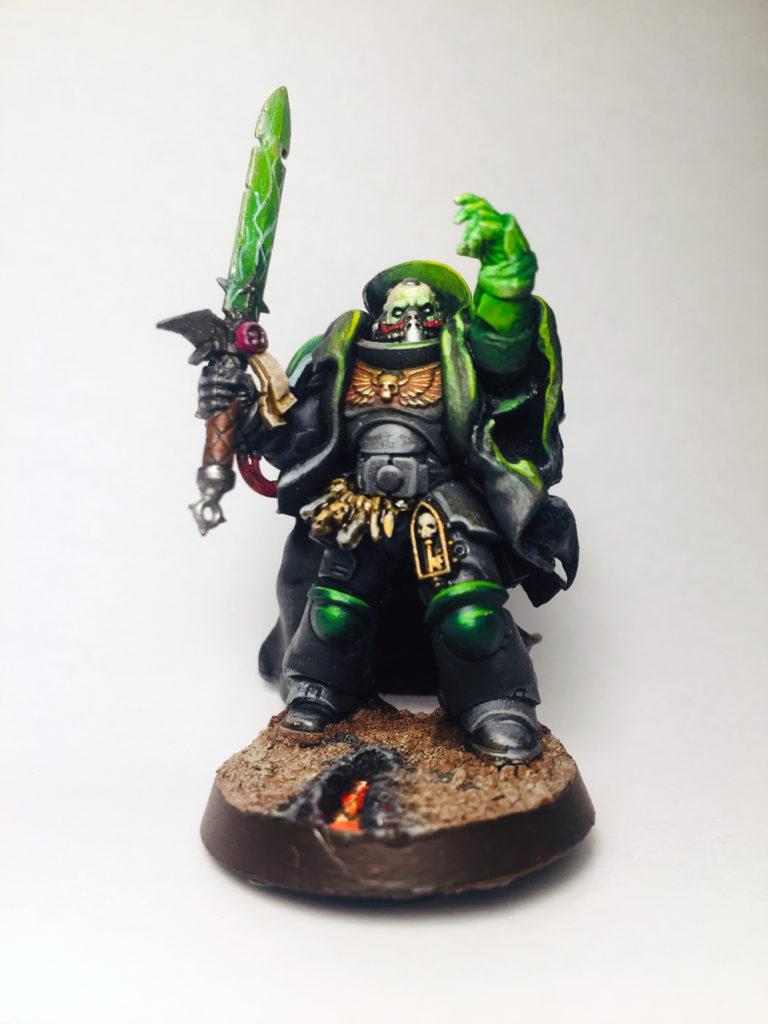 Dark Angles primaris Librarian