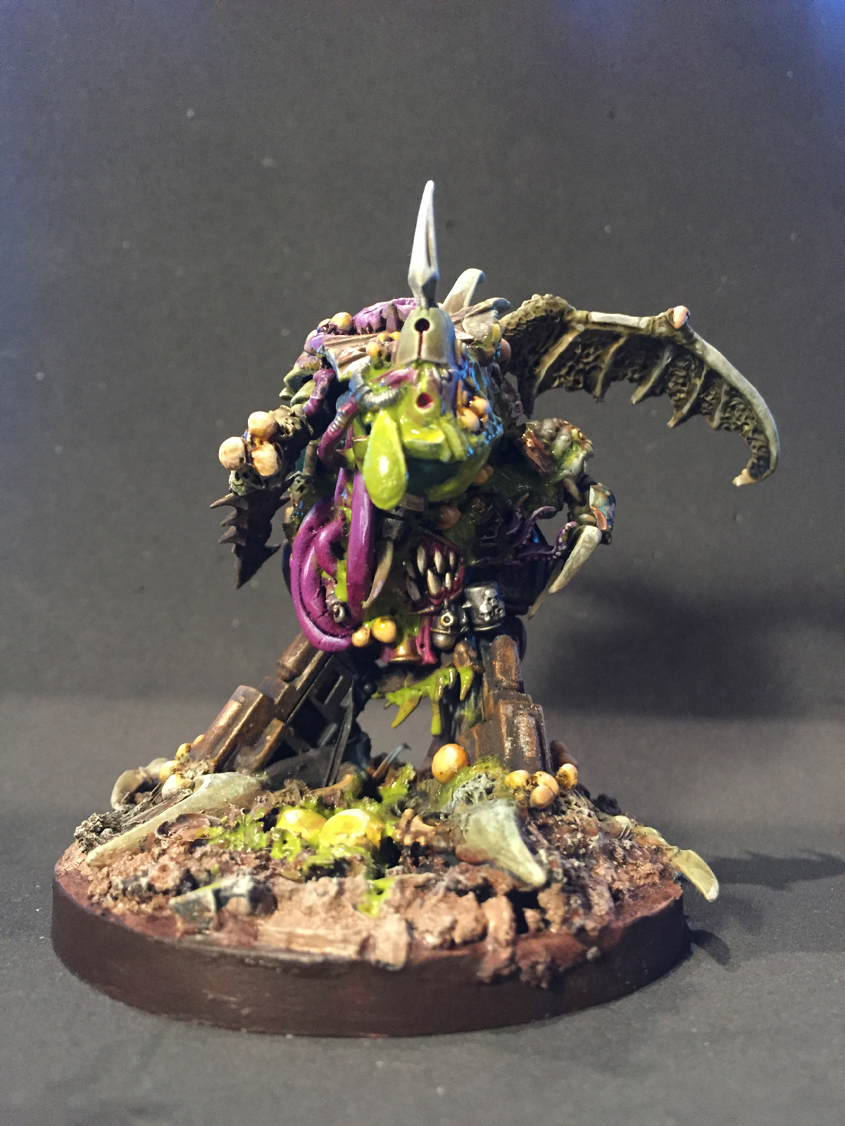 Daemon prince of Nurgle (with wings)