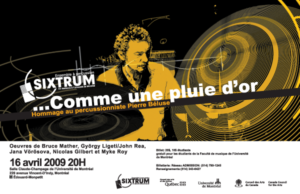 Sixtrum, homage à Pierre Béluse, 2009