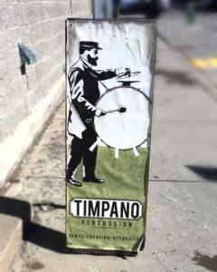 Timpano-percussions, Enseigne, 2012