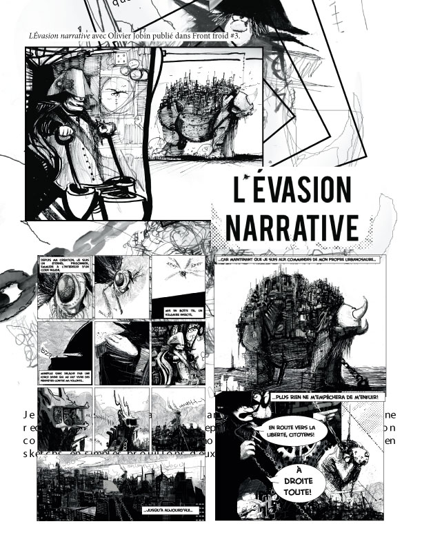 L'évasion narrative, Page 1, 2009