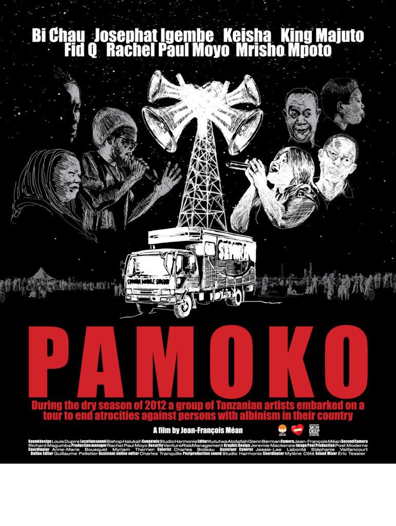 Pamoko, affiche, 2013