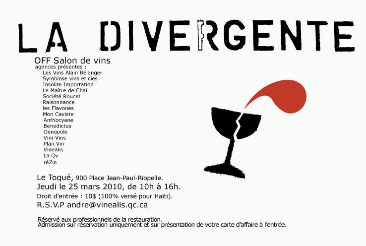 La QV, La divergente, 2010