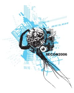 Recon, illustration vectorielle, 2005
