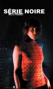 Affiche Série noire, 2007